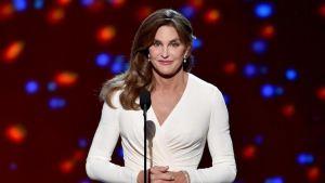 Caitlyn Jenner accepting Arthur Ashe Award. Source: ESPN