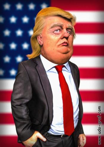 Donald Trump. Photo credit: Udo Graf (https://www.artstation.com/artwork/YRzLd)
